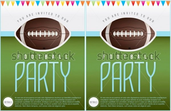 Tailgate Party Invitation Template Beautiful 21 Football Invitation Designs Psd Vector Eps Jpg