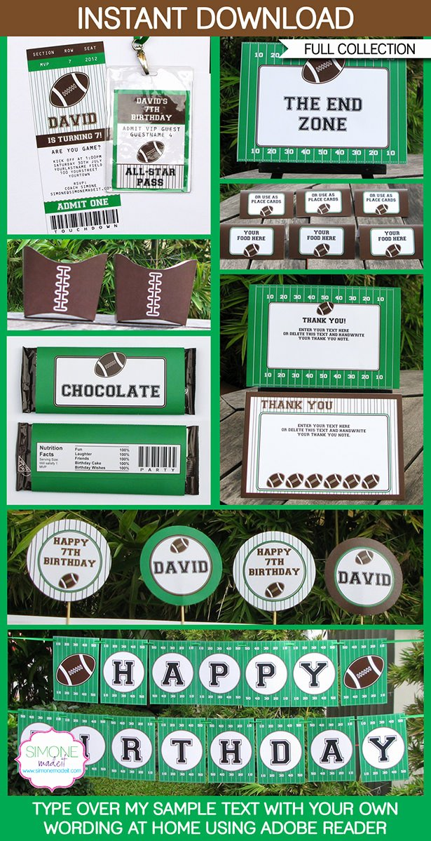 Tailgate Party Invitation Template Inspirational Football Party Printables Invitations & Decorations