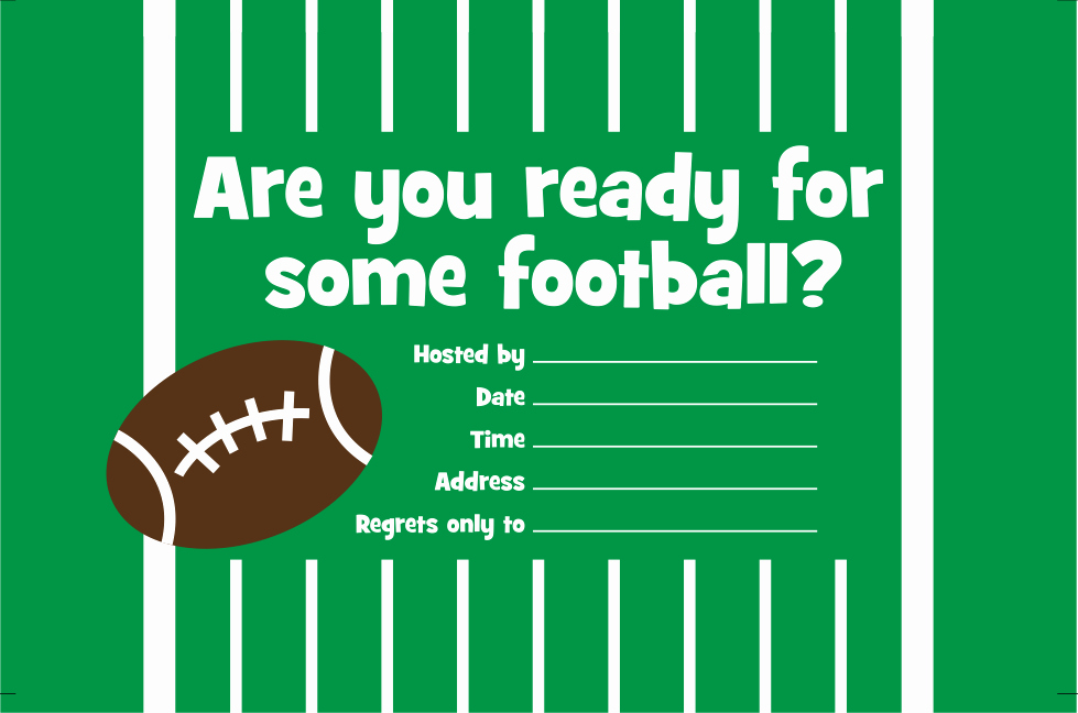 Tailgate Party Invitation Template New Free Printable Invitation Football Party