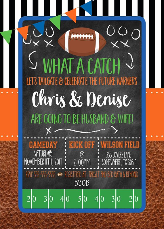 Tailgate Party Invitation Template Unique Printable Football Party Invitations for Adult Kid