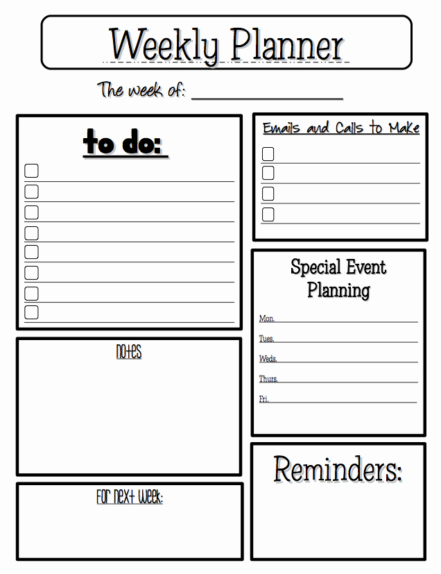 Teacher Daily Planner Template New the Best Of Teacher Entrepreneurs Free Misc Lesson