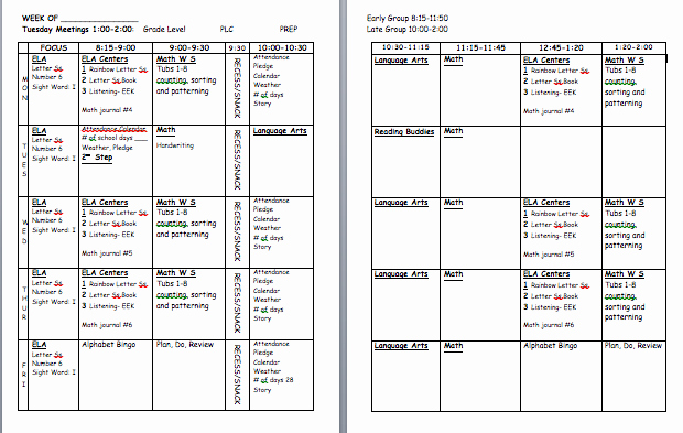 Teacher Lesson Plan Book Template Best Of Time 4 organization Teacher Plan Book