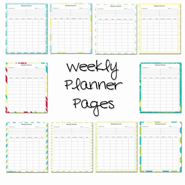 Teacher Lesson Plan Book Template Inspirational Lawteedah Weekly Lesson Planner