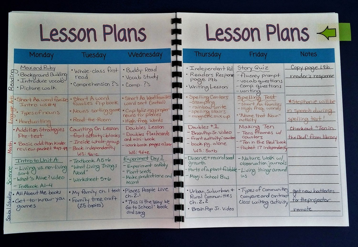Teacher Lesson Plans Template Beautiful Resources to Help You In September