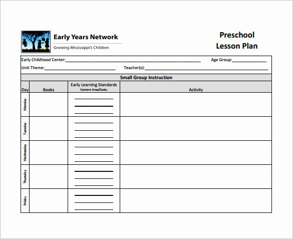 Teacher Lesson Plans Template Luxury Teacher Lesson Plan Template 8 Free Sample Example