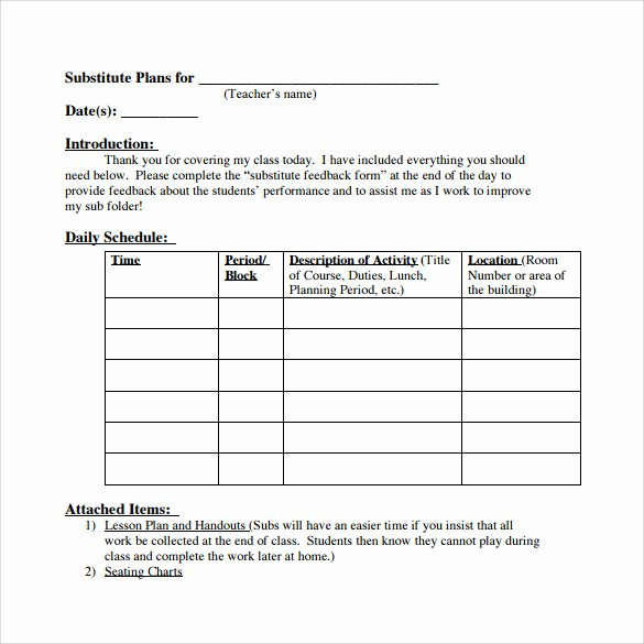 Teacher Lesson Plans Template Unique 18 Teacher Lesson Plan Templates Free Sample Example