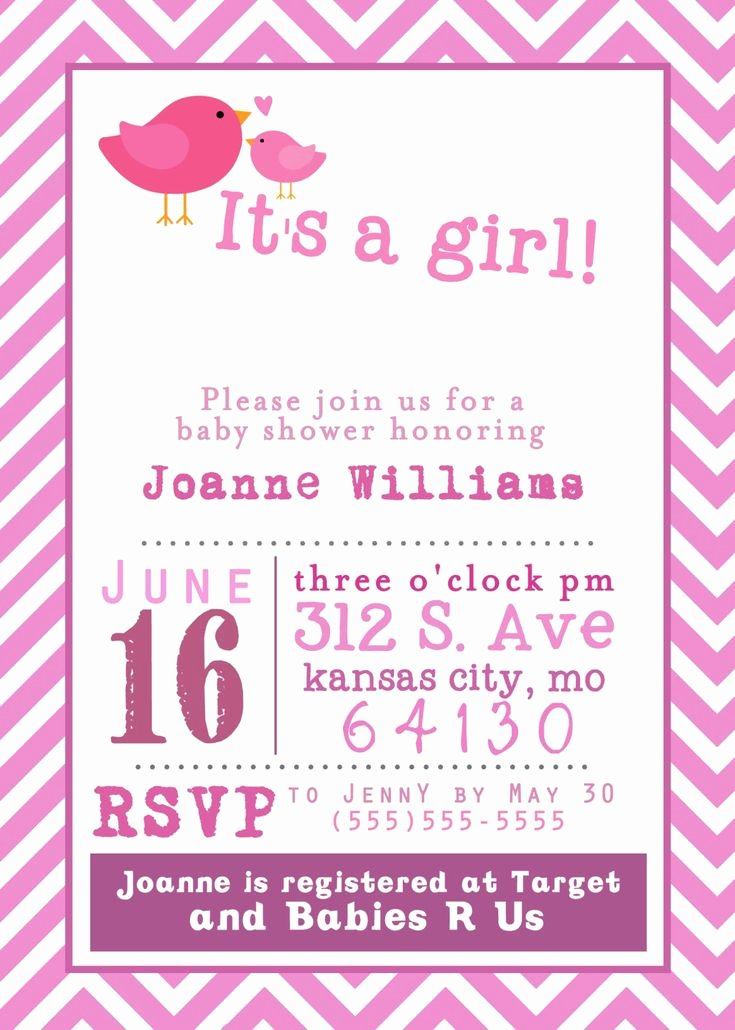 Template for Baby Shower Invitation Inspirational 10 Best Stunning Free Printable Baby Shower Invitations