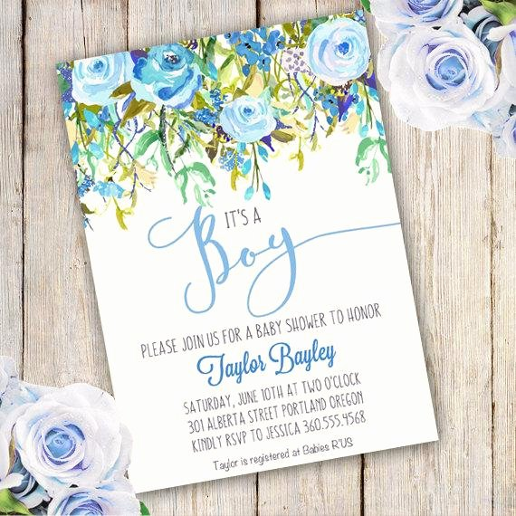 Template for Baby Shower Invitation Inspirational Whimsical Boy Baby Shower Invitation Boy Baby Shower Invite