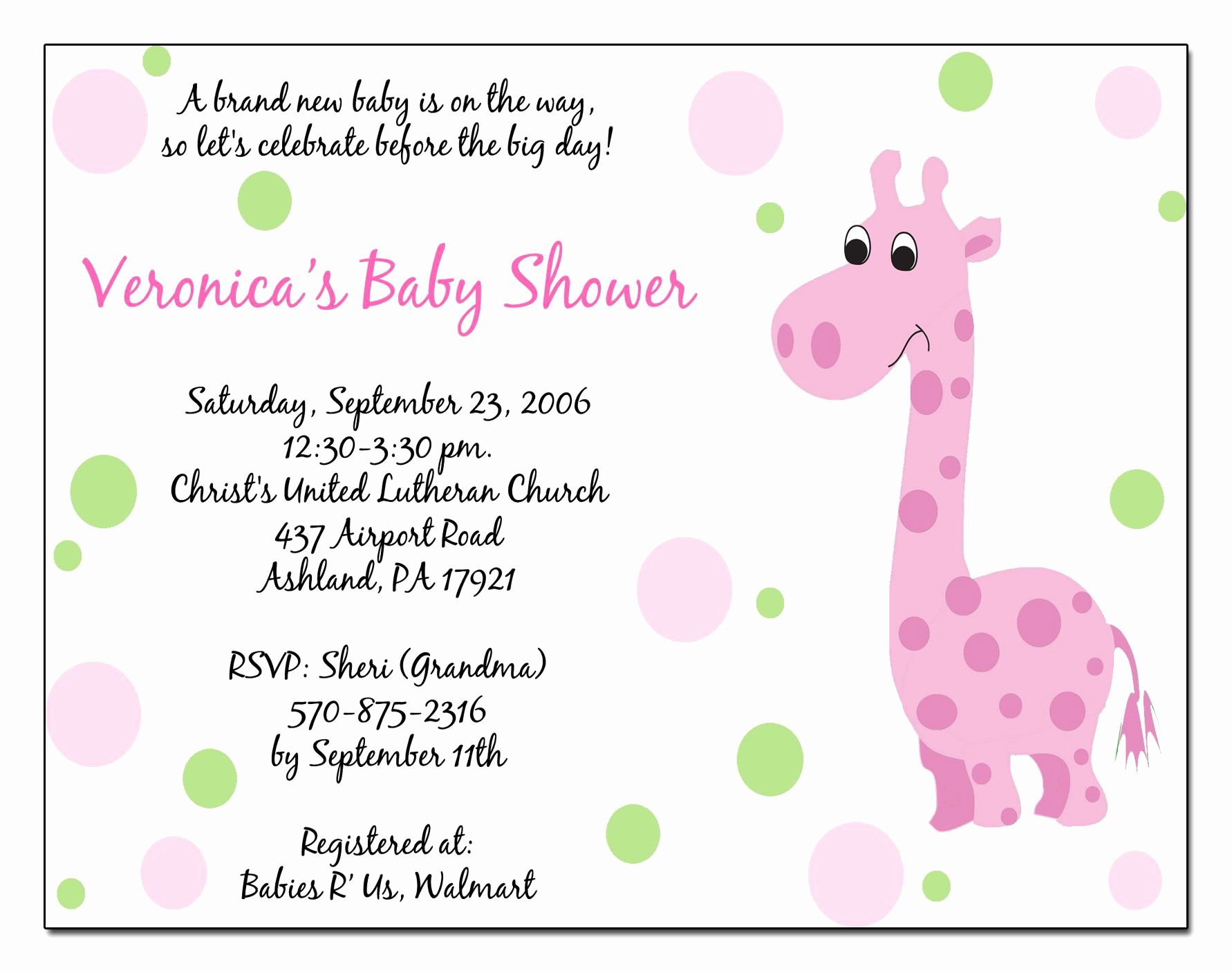 Template for Baby Shower Invitation Lovely Baby Shower Invitations Templates Baby Shower