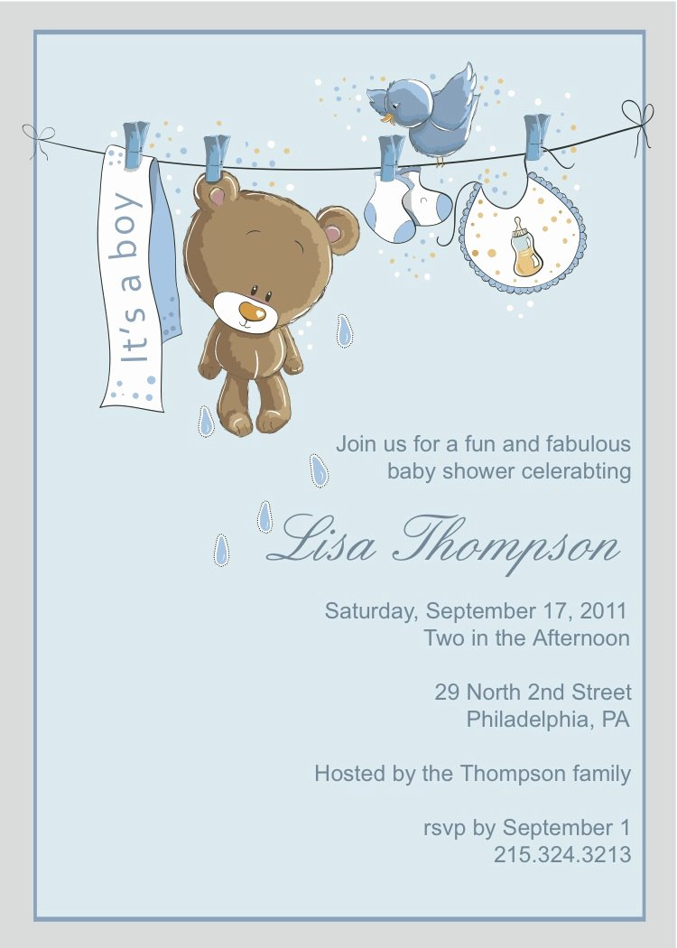 Template for Baby Shower Invitation Lovely Petals & Paper Boutique New Baby Shower Invitations