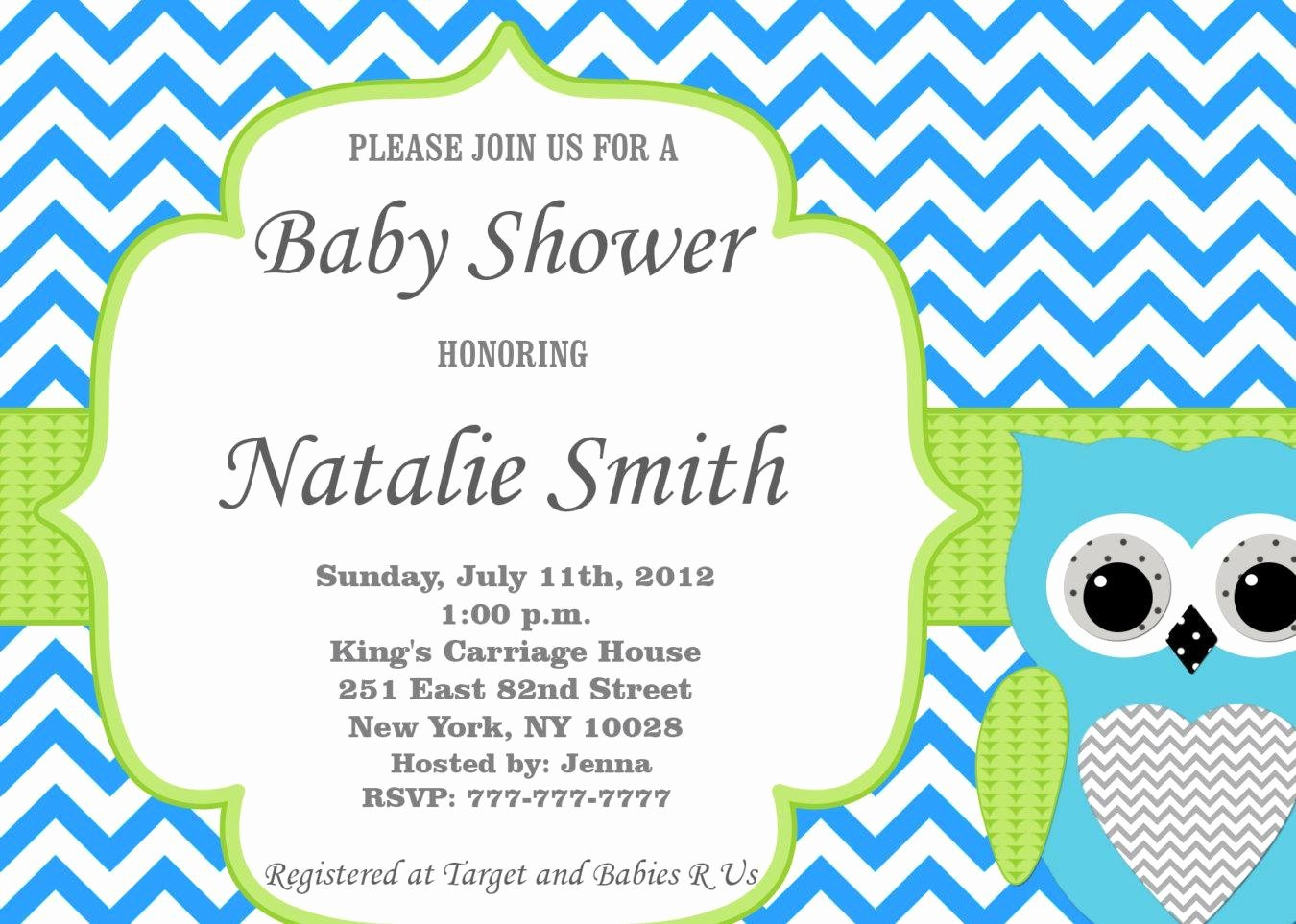Template for Baby Shower Invitation New Fice Baby Shower Invitation Templates