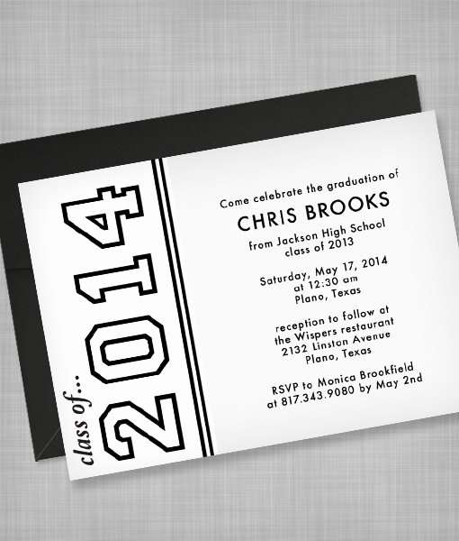 Template for Graduation Invitation Awesome High School Graduation Invitation Template – Download & Print