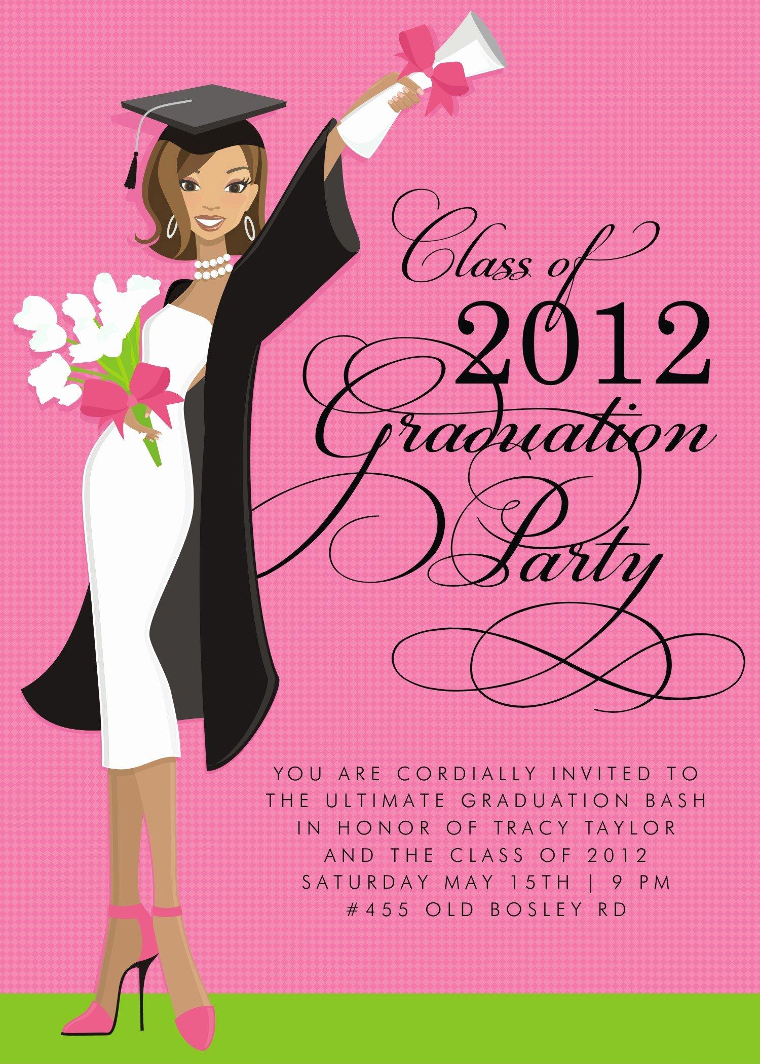 Template for Graduation Invitation Beautiful Free Graduation Invitation Templates Free Graduation