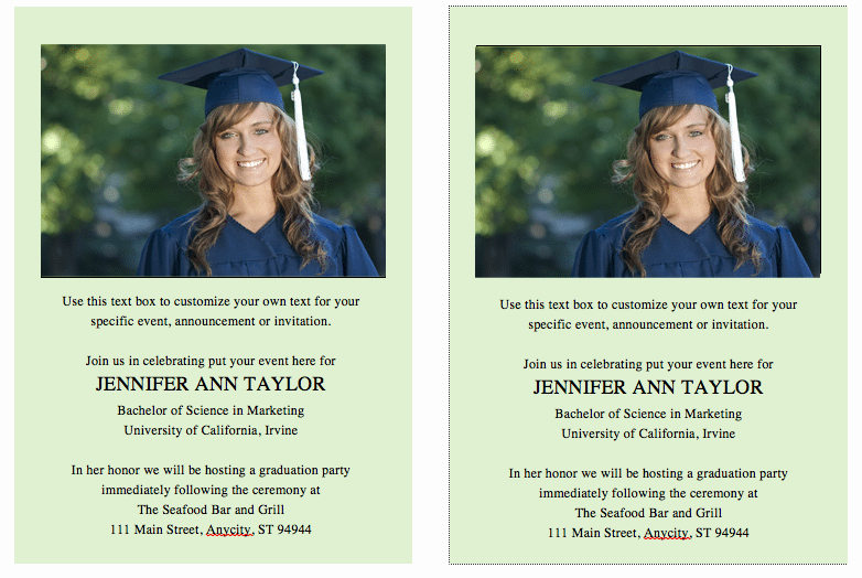 Template for Graduation Invitation Unique Template for Graduation Invites