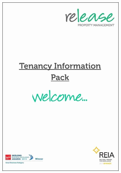Tenant Information Sheet Template Best Of Tenant Information Pack Release Property Management