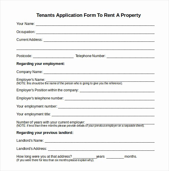 Tenant Information Sheet Template Inspirational 12 Tenancy Inventory Templates – 14 Doc Excel Pdf