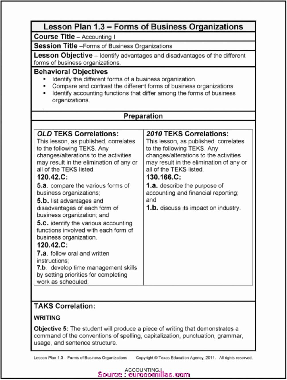 Texas Lesson Plans Template Best Of 7 Perfect How to Write A Lesson Plan In Texas solutions