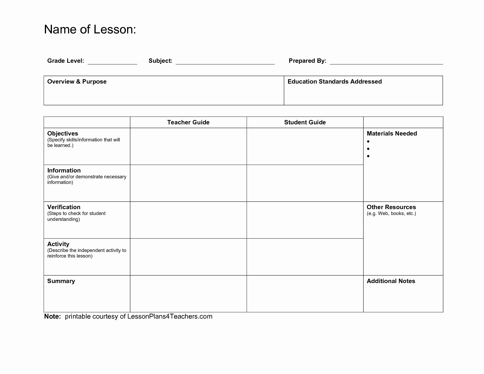 daily lesson plan template 3399