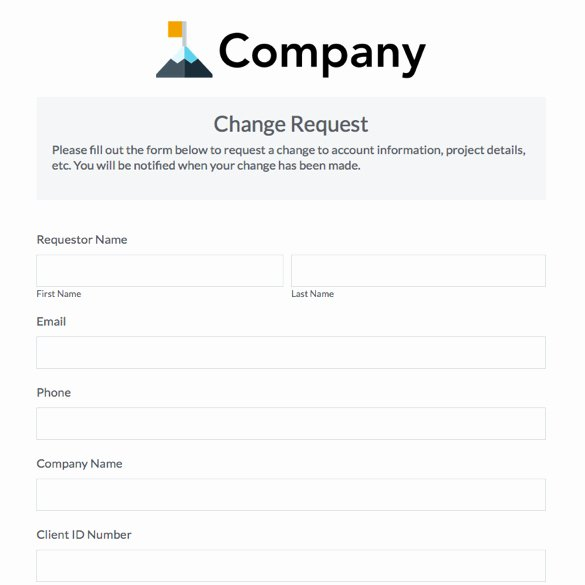 Trade Show Lead form Template Awesome Work Schedule Change Request form Template – Printable