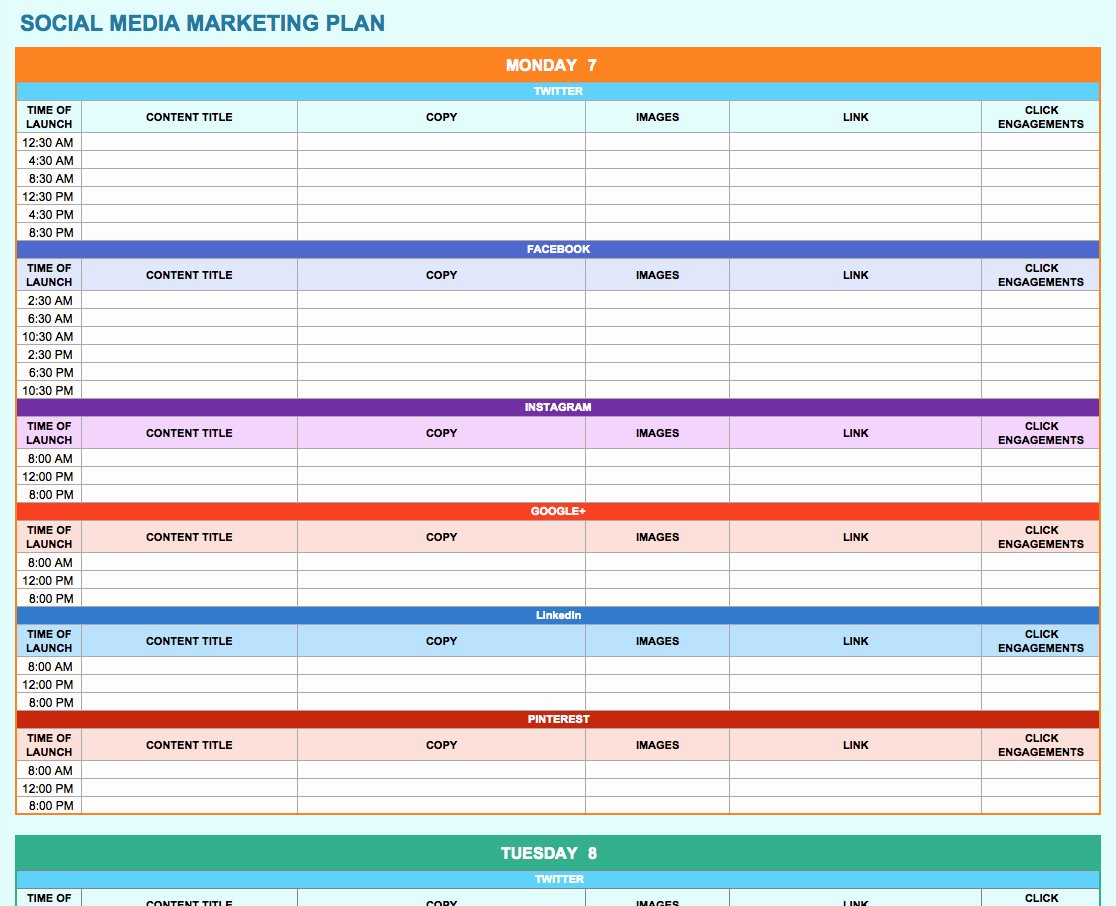 Training Plan Template Excel Beautiful Training Plan Template Excel Download – Planner Template Free