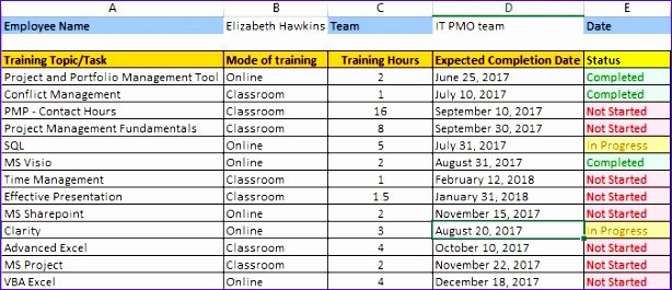 Training Schedule Template Excel Best Of 10 Free Excel Schedule Template Exceltemplates