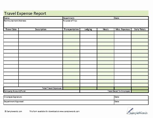 Travel Reimbursement form Template Inspirational 78 Best Images About Business forms On Pinterest