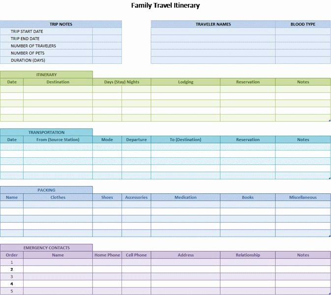 Trip Itinerary Planner Template New 17 Best Images About Trip Itinerary Template On Pinterest