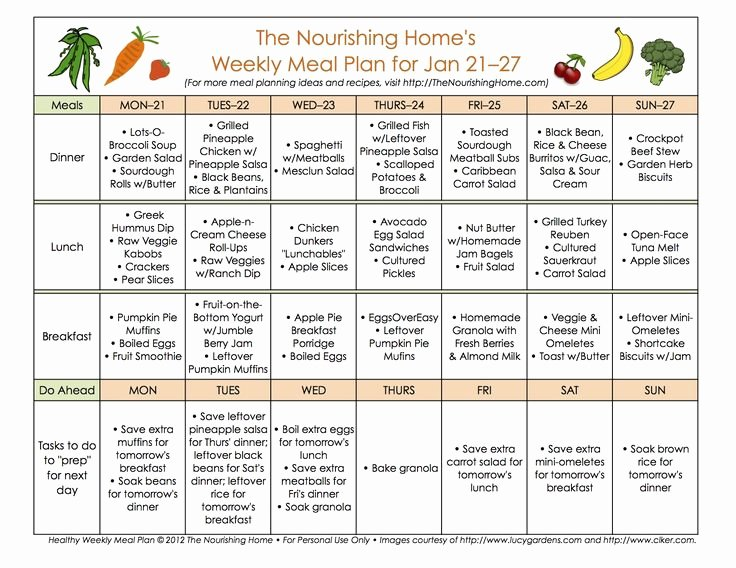 Two Week Meal Planner Template Lovely 88 Best E Day Juicing Weight Loss Detox Images On