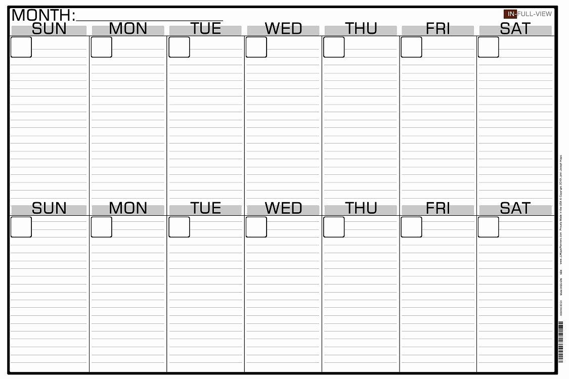 Two Week Schedule Template Beautiful 2 Week Blank Calendar Calendar Printable Free Free 2 Week