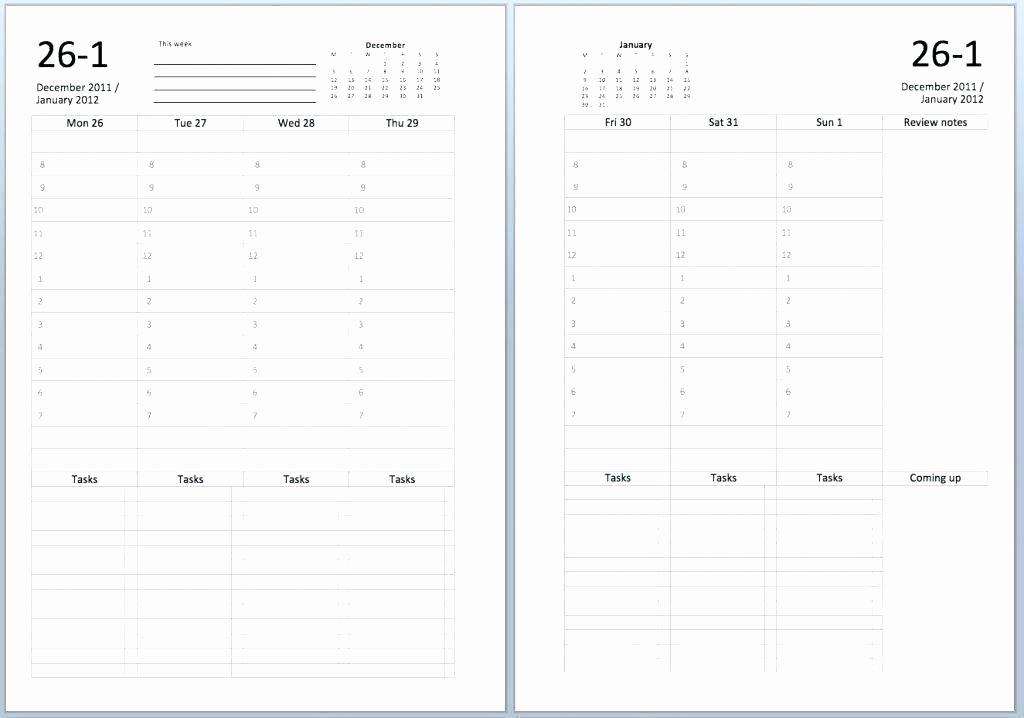 Two Week Schedule Template New Blank Two Week Calendar – Italfx