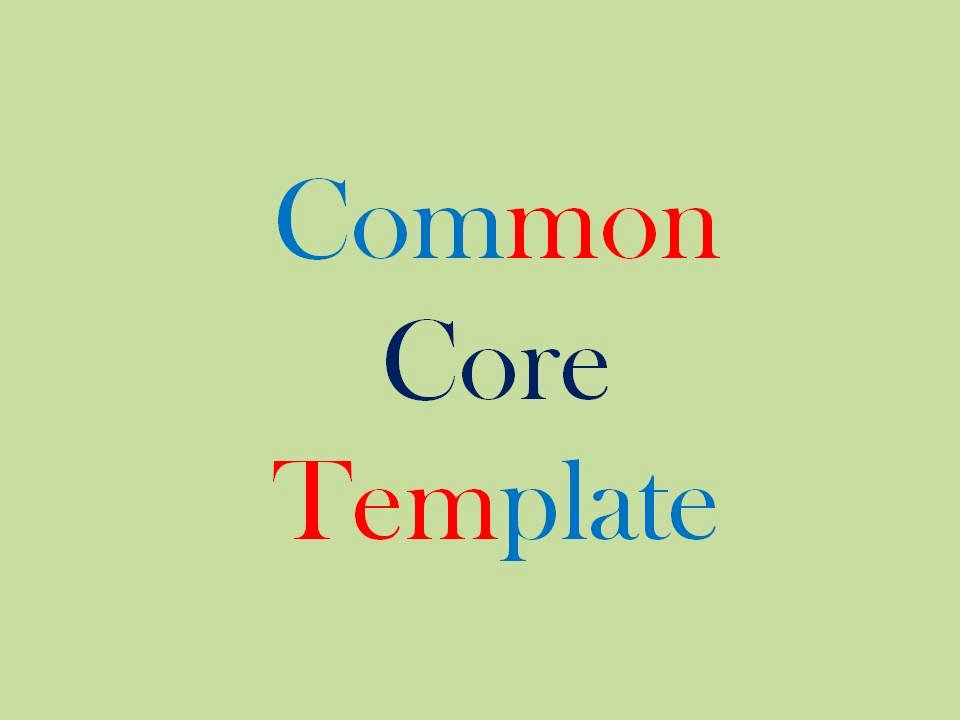 Unit Plan Template Common Core Best Of Mon Core Unit Plan Template