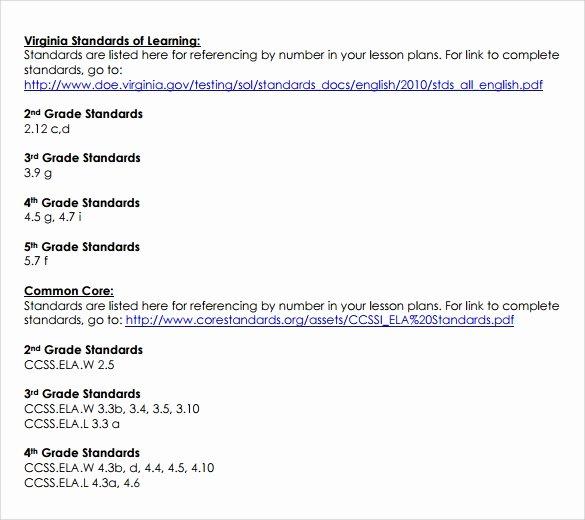 Unit Plan Template Common Core Unique Free 9 Mon Core Lesson Plan Samples In Google Docs