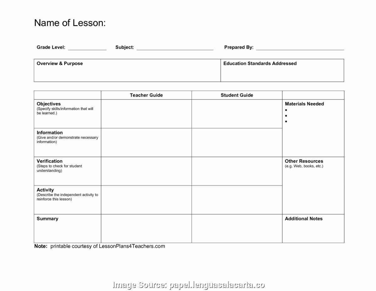 Unit Planner Template for Teachers Best Of Fresh 5 Day Preschool Lesson Plans Preschool Curriculum