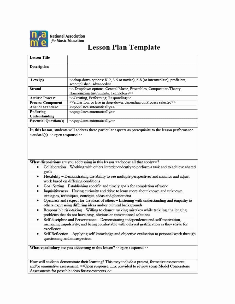 Unit Planner Template for Teachers Inspirational 39 Best Unit Plan Templates [word Pdf] Template Lab