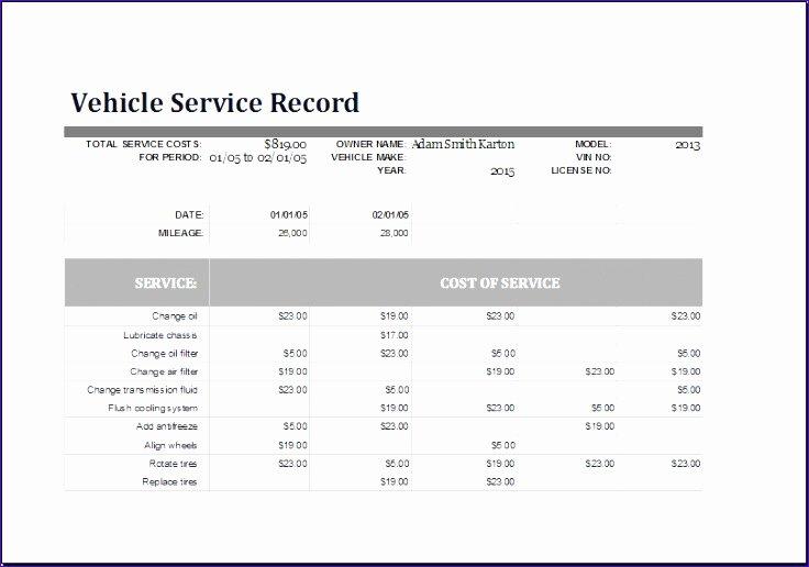 Vehicle Maintenance Schedule Template Excel Awesome 10 Home Maintenance Schedule Exceltemplates Exceltemplates