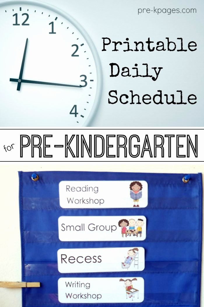 Vpk Lesson Plan Template Inspirational Editable Daily Schedule Templates