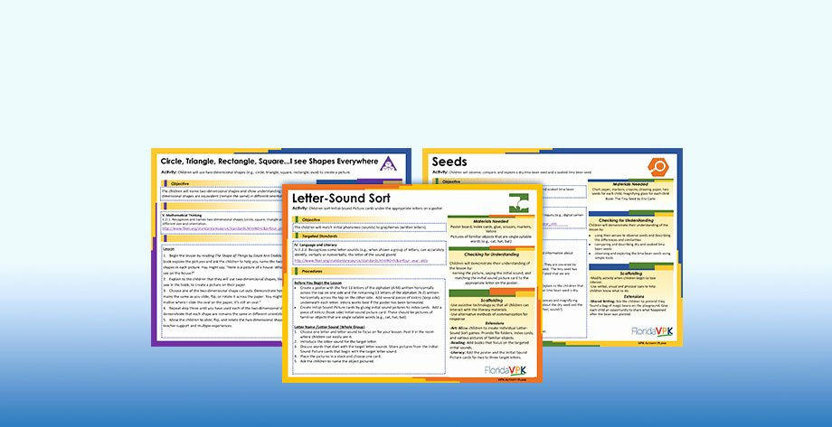 Vpk Lesson Plan Template New Vpk Education Standards Best the Best Education