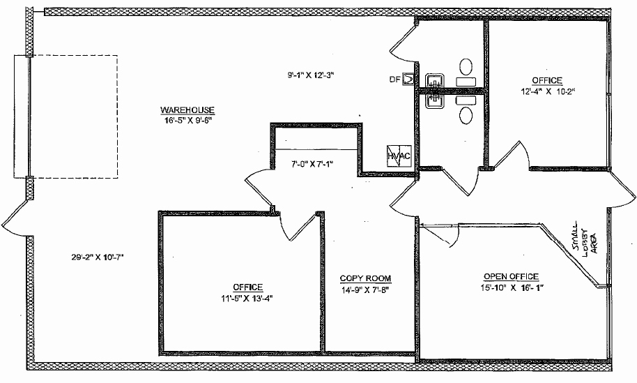 Warehouse Floor Plan Template Best Of Selling A Warehouse Fice Typical Floorplan