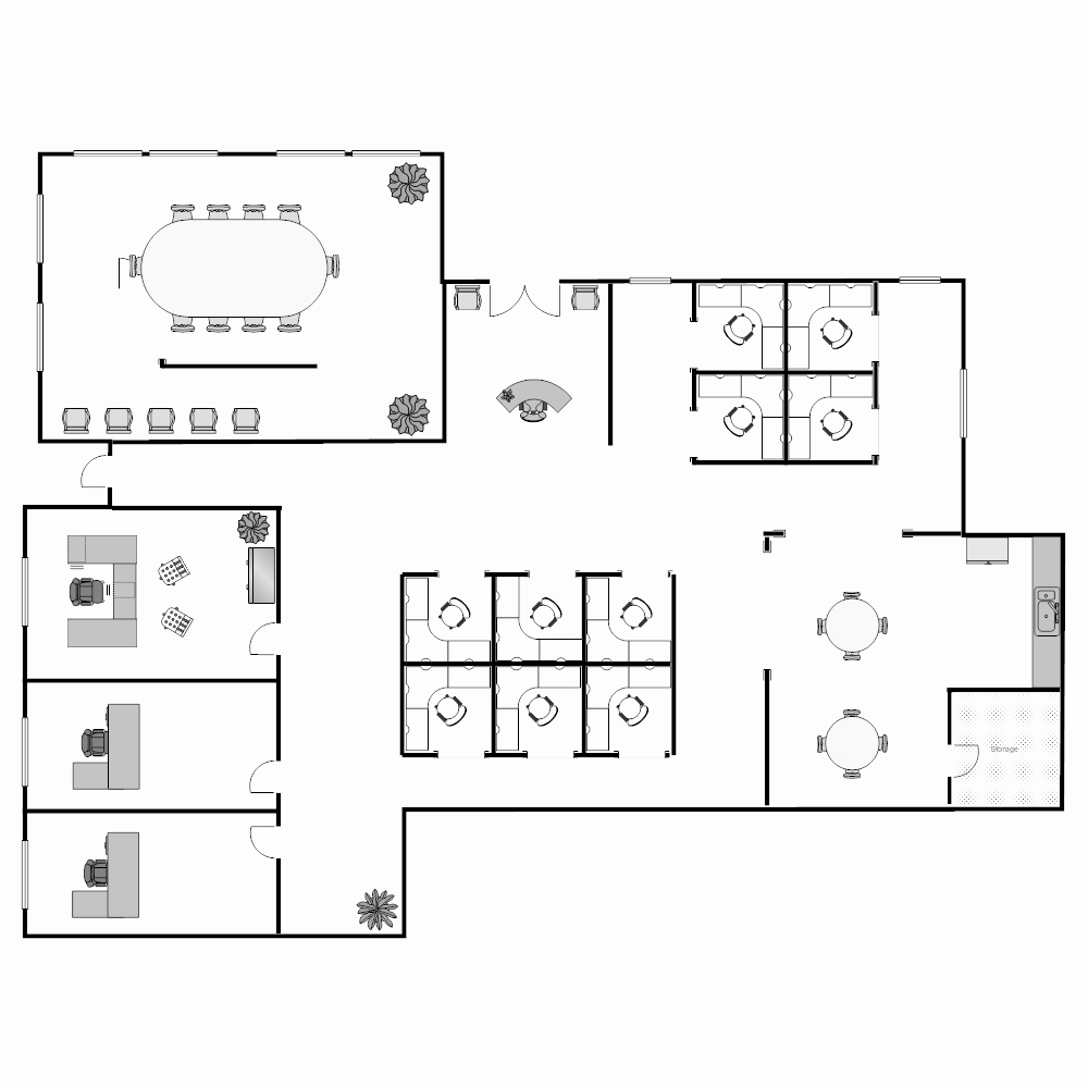 Warehouse Floor Plan Template Elegant Floor Plan Templates Draw Floor Plans Easily with Templates