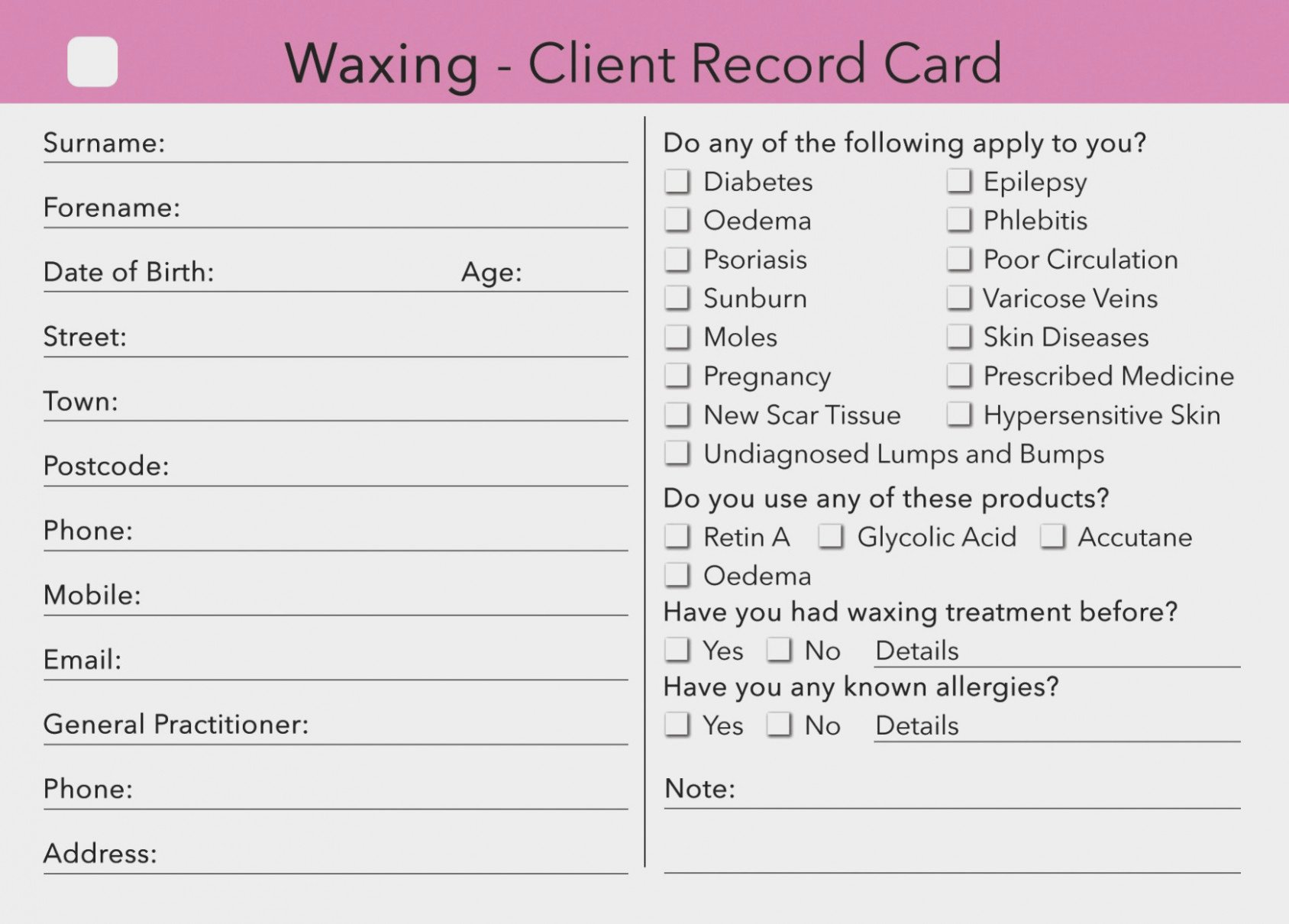 Waxing Consent form Template Elegant Quiz How Much Do You Know