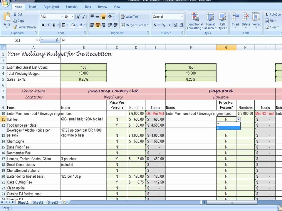 Wedding Budget Planner Template Inspirational Wedding Planner Reception Bud Worksheet by