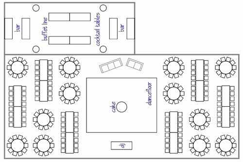 Wedding Floor Plan Template Fresh How to Choose Your Wedding Reception Layout Design
