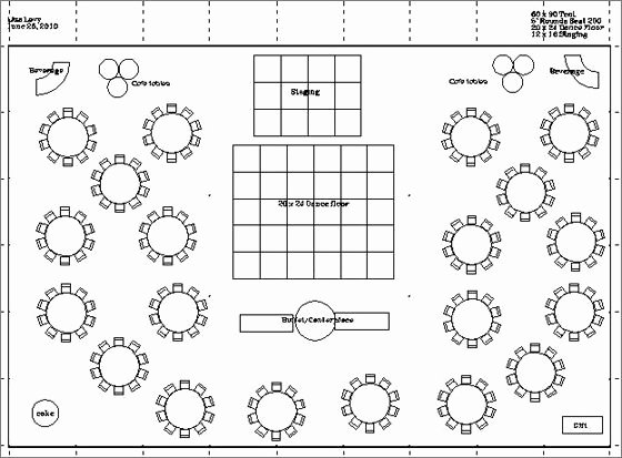 Wedding Floor Plan Template Fresh Wedding Reception Dance Floor Layout