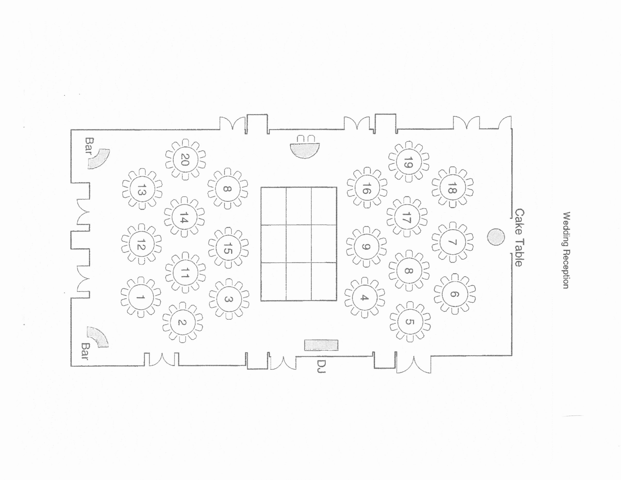 Wedding Floor Plan Template Inspirational Tips for Table assignments and Floor Plans