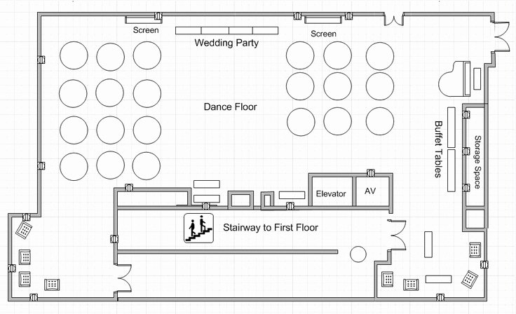 Wedding Floor Plan Template New Dining Center Banquet Hall Wedding Floor Plan Wedding