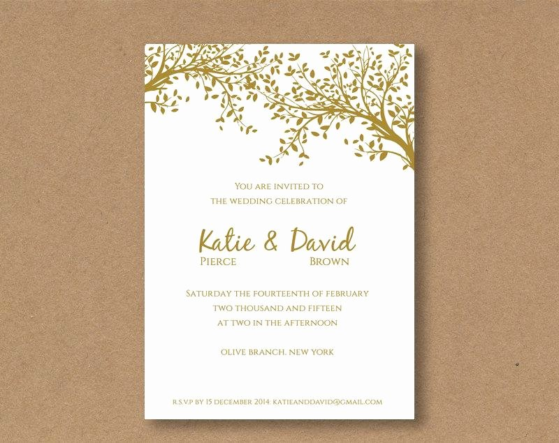Wedding Invitation Diy Template Awesome Diy Editable and Printable Wedding Invitation Template