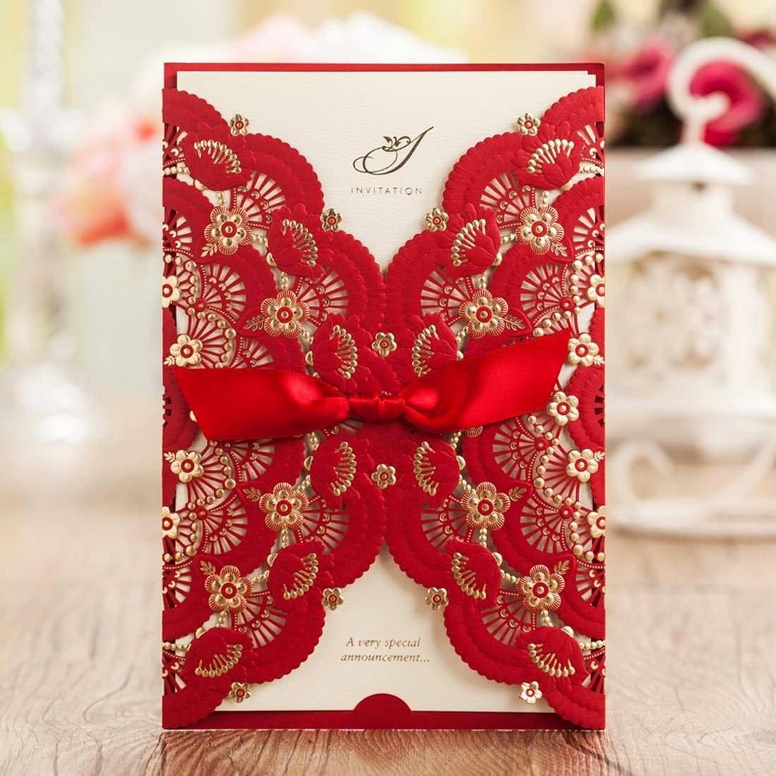 Wedding Invitation Diy Template Beautiful top 10 Best Cheap Diy Wedding Invitations