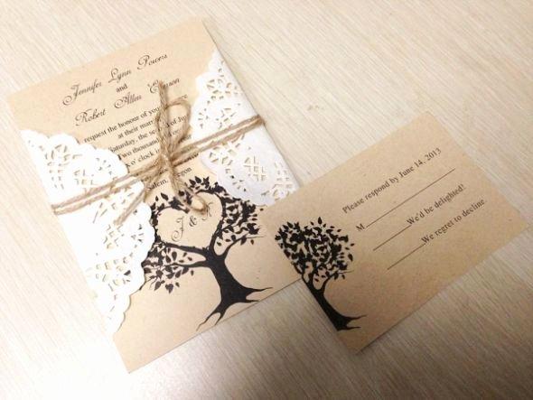 Wedding Invitation Diy Template Luxury Diy Rustic Wedding Invitations Template