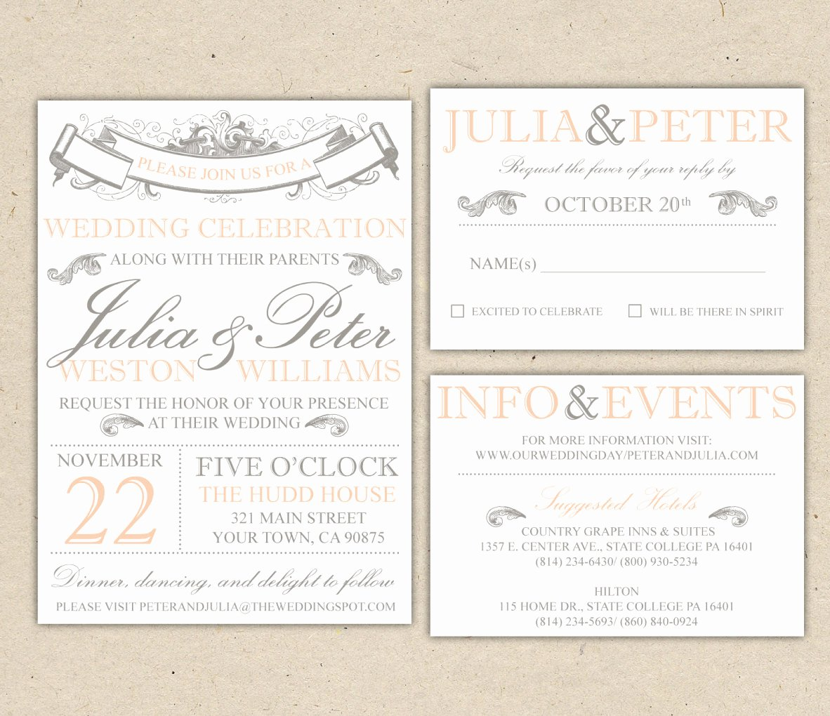 Wedding Invitation Template for Word Awesome Wedding Invitation Template Word
