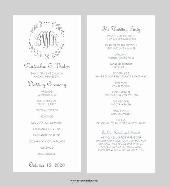 Wedding Invitation Template for Word Elegant 43 Wedding Templates Word